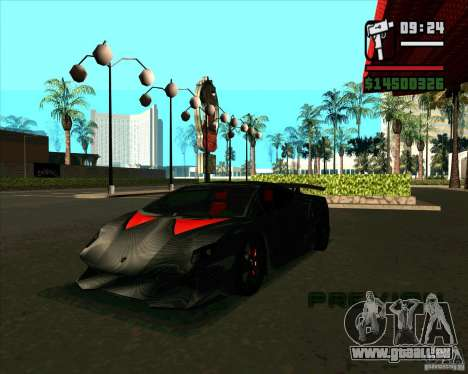 Lamborghini Sesto Elemento pour GTA San Andreas