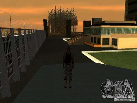 La villa de la noche beta 1 pour GTA San Andreas deuxième écran