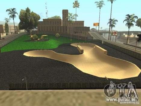 Die neue Velopark in LS für GTA San Andreas zweiten Screenshot