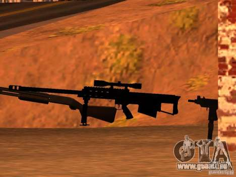 M95 Barrett Sniper für GTA San Andreas dritten Screenshot