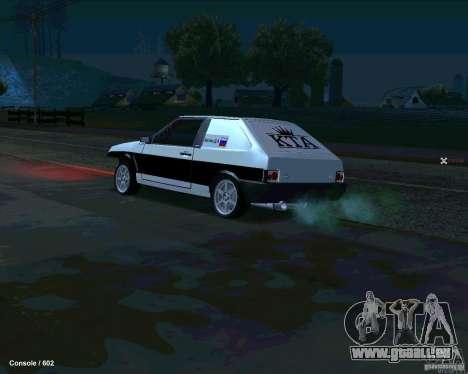 VAZ 2108 Drag pour GTA San Andreas laissé vue