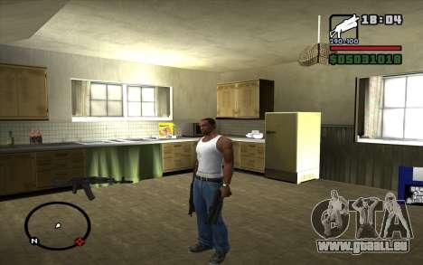 PP-19 Bizon für GTA San Andreas zweiten Screenshot