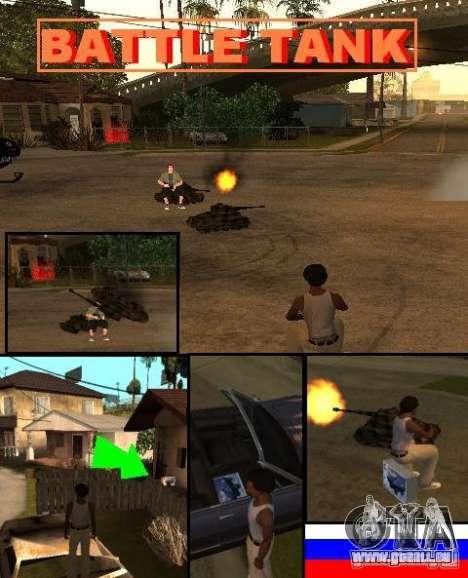 GTA SA SIMS real pour GTA San Andreas troisième écran