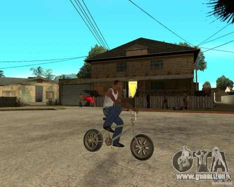 WideWheel-BMX 1 LOUIS VUITTON Version pour GTA San Andreas vue de droite