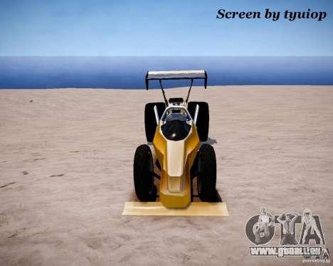 Raketomobil′ für GTA 4 linke Ansicht