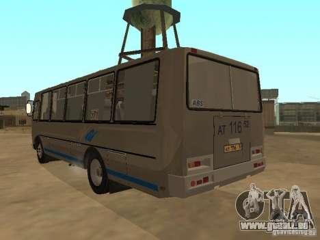 Groove-4234 pour GTA San Andreas vue arrière