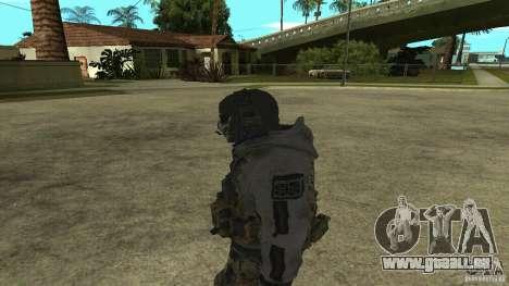 Ghost pour GTA San Andreas deuxième écran
