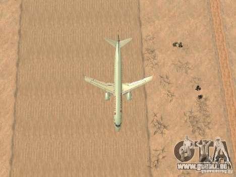 Embraer ERJ 190 Air Canada für GTA San Andreas Seitenansicht