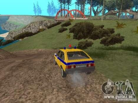 2141 AZLK GAI pour GTA San Andreas vue de droite