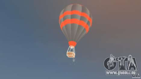 Balloon Tours option 4 für GTA 4 linke Ansicht