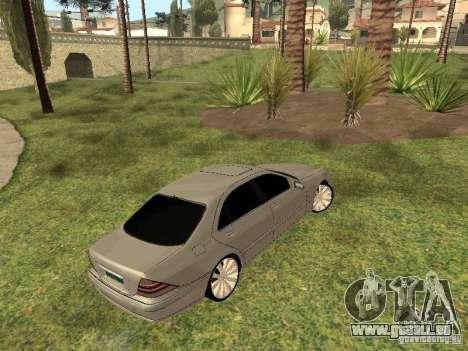 Mercedes-Benz S600 w200 für GTA San Andreas rechten Ansicht