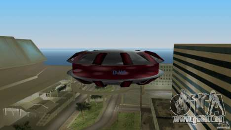 Ultimate Flying Object für GTA Vice City zurück linke Ansicht