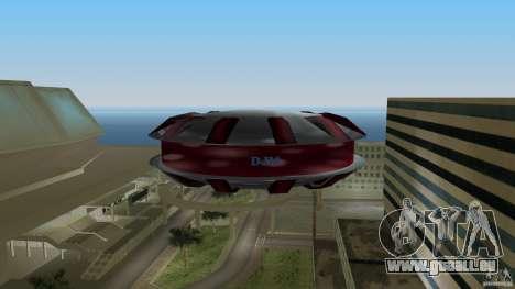 Ultimate Flying Object pour GTA Vice City sur la vue arrière gauche