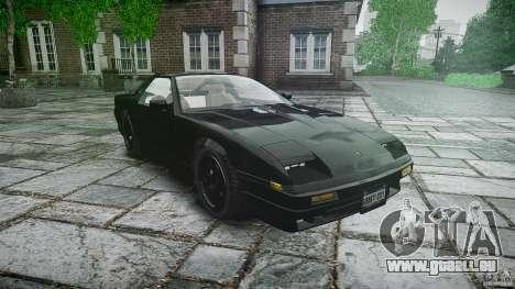 Ruiner KNIGHT RIDER Skin pour GTA 4 Vue arrière
