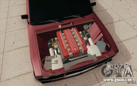 VAZ 2106 Lada für GTA San Andreas Unteransicht