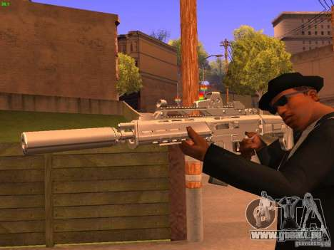 TeK Weapon Pack für GTA San Andreas siebten Screenshot