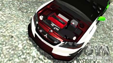 Mitsubishi Lancer Evo IX Tuning für GTA 4 Seitenansicht