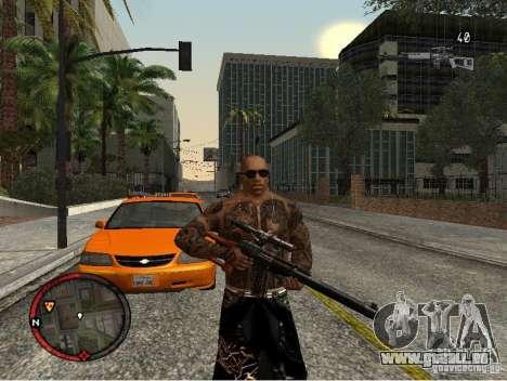 GTA IV HUD v1 by shama123 pour GTA San Andreas