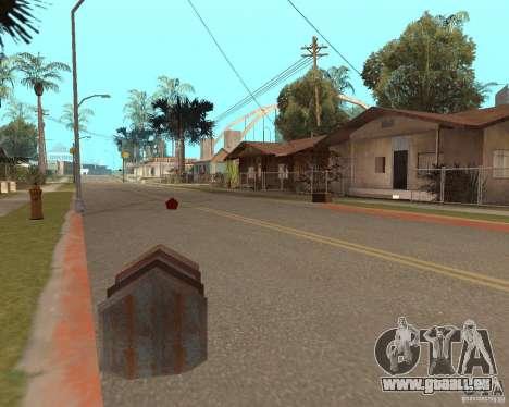 Remapping Ghetto v.1.0 pour GTA San Andreas troisième écran
