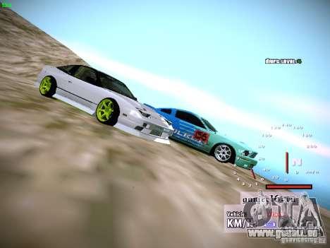 Ford Shelby GT500 Falken Tire Justin Pawlak 2012 pour GTA San Andreas vue intérieure