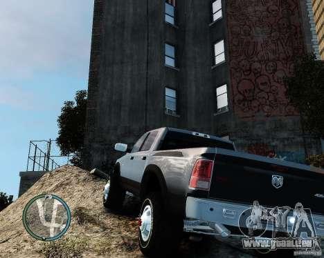 Dodge Ram 3500 Stock für GTA 4 rechte Ansicht