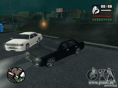 Toyota Crown Tunable für GTA San Andreas Rückansicht