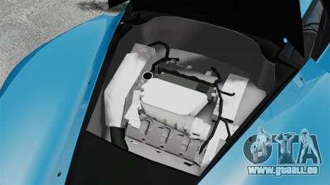 Marussia B2 für GTA 4 Innenansicht