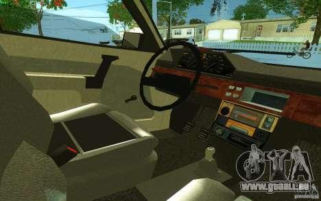 2141 AZLK v2.0 pour GTA San Andreas sur la vue arrière gauche