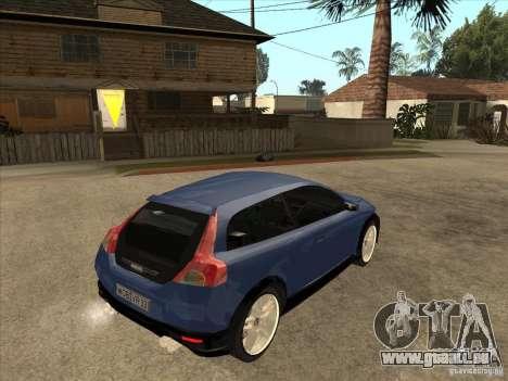 VOLVO C30 Sport 2009 pour GTA San Andreas vue de droite