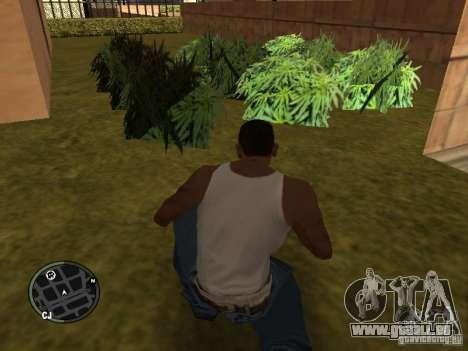 La marijuana v2 pour GTA San Andreas huitième écran