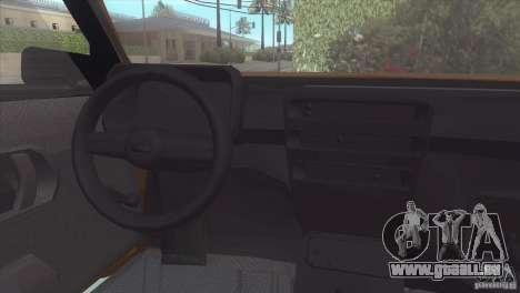 Fiat Cinquecento pour GTA San Andreas vue de droite