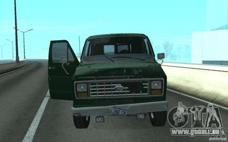 Ford E-150 Short Version v1 für GTA San Andreas linke Ansicht