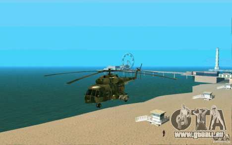 MIL MI-8 für GTA San Andreas