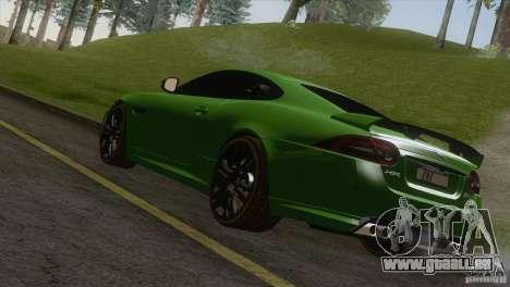 Jaguar XKR-S 2011 V1.0 pour GTA San Andreas laissé vue