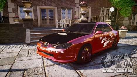 Subaru Impreza WRX STI für GTA 4 Innen