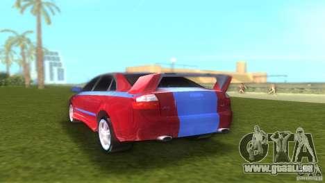 Audi A4 STREET RACING EDITION für GTA Vice City rechten Ansicht
