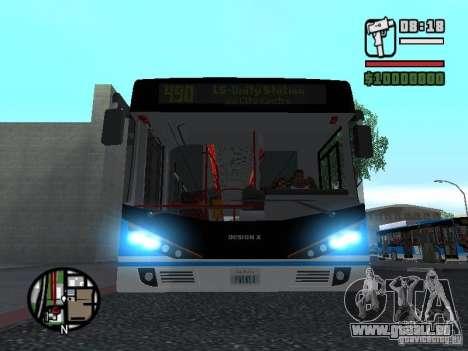 Design-X4-Dreamer pour GTA San Andreas laissé vue