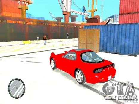 Mazda RX-7 Type RZ pour GTA 4 est une gauche