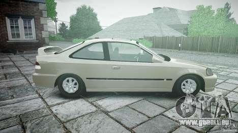 Honda Civic Coupe für GTA 4 linke Ansicht