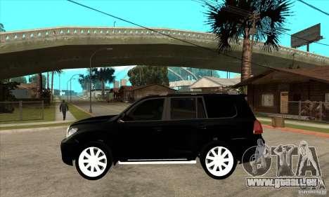 Lexus LX 570 2010 pour GTA San Andreas laissé vue