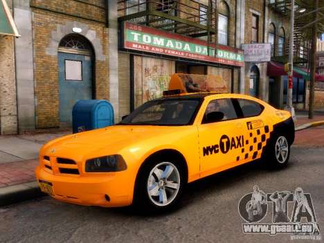 Dodge Charger NYC Taxi V.1.8 für GTA 4