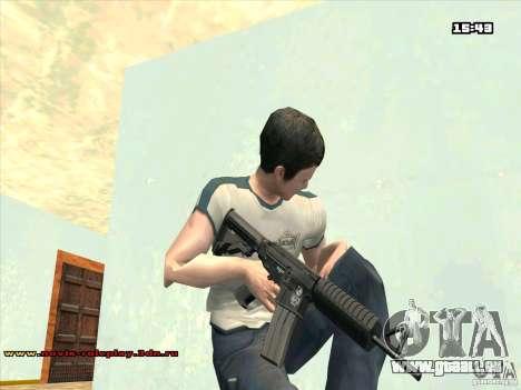 M4 HD für GTA San Andreas zweiten Screenshot
