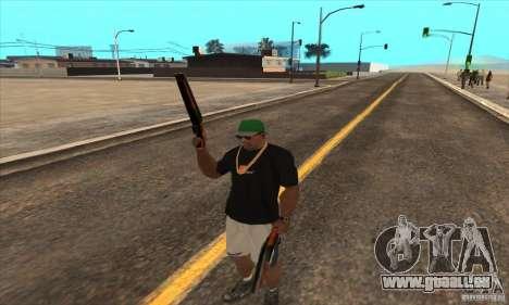 WEAPON BY SWORD pour GTA San Andreas cinquième écran