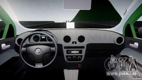 Volkswagen Gol Rallye 2012 v2.0 pour GTA 4 est un droit