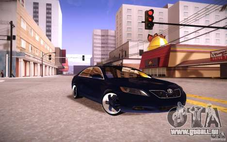 Toyota Camry Light Tunning pour GTA San Andreas vue arrière