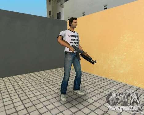 AK-47 avec un М203 de lanceur de grenade pour GTA Vice City cinquième écran