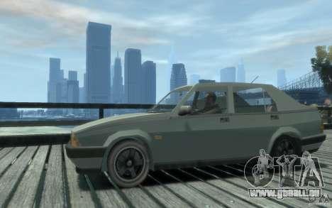 Alfa Romeo 75 für GTA 4 hinten links Ansicht