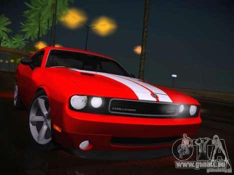 Dodge Challenger SRT8 v1.0 pour GTA San Andreas vue intérieure