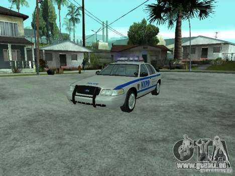 Ford Crown Victoria NYPD pour GTA San Andreas
