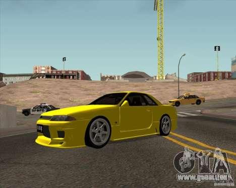 Nissan Skyline R32 Bee R für GTA San Andreas linke Ansicht